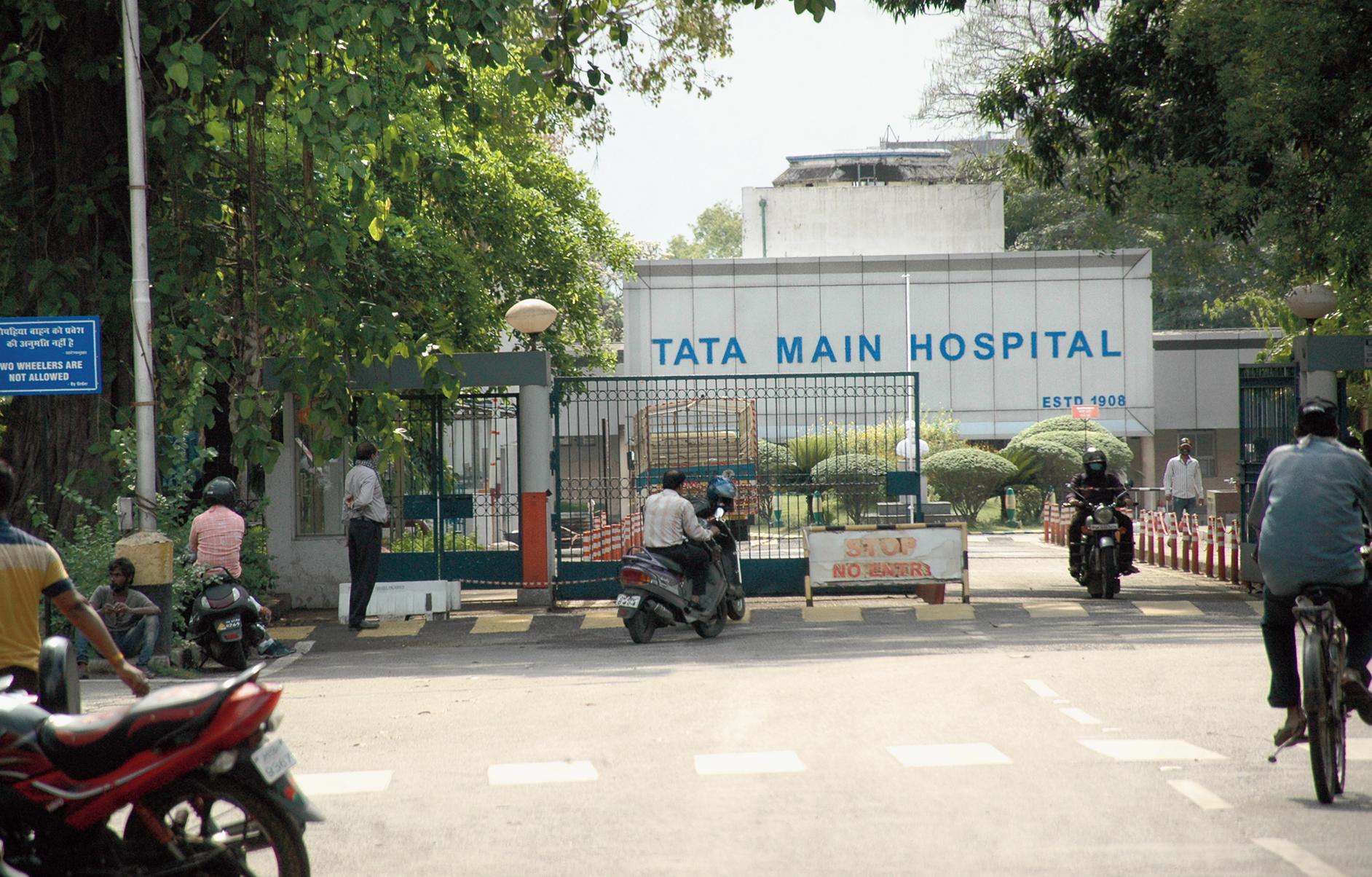 Tata Main Hospital in Jamshedpur.