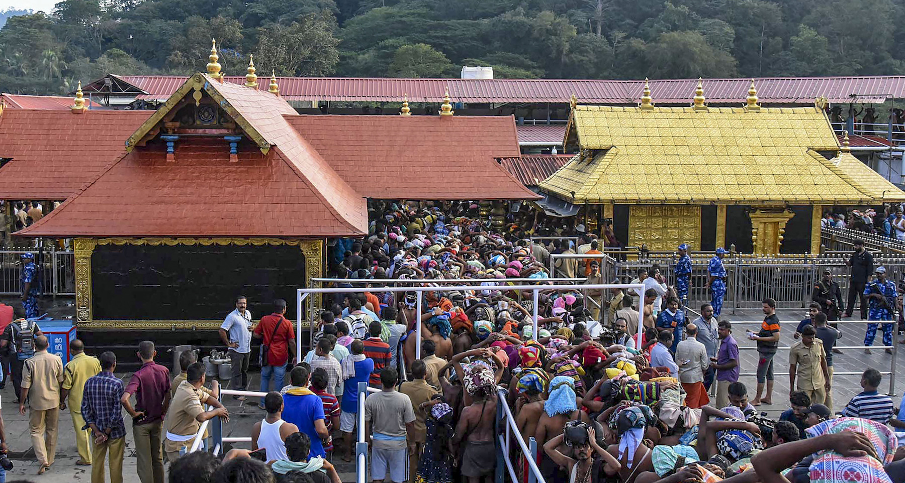 Heavy rush at Sabarimala temple