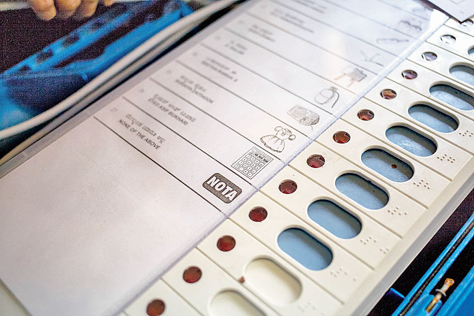 The Nota percentage accounted for 0.99 per cent of the 1,79,86,066 electorate, with Dibrugarh seat in Upper Assam accounting for the highest and Karimganj (SC) the lowest in this category, the Election Commission office in Guwahati said.