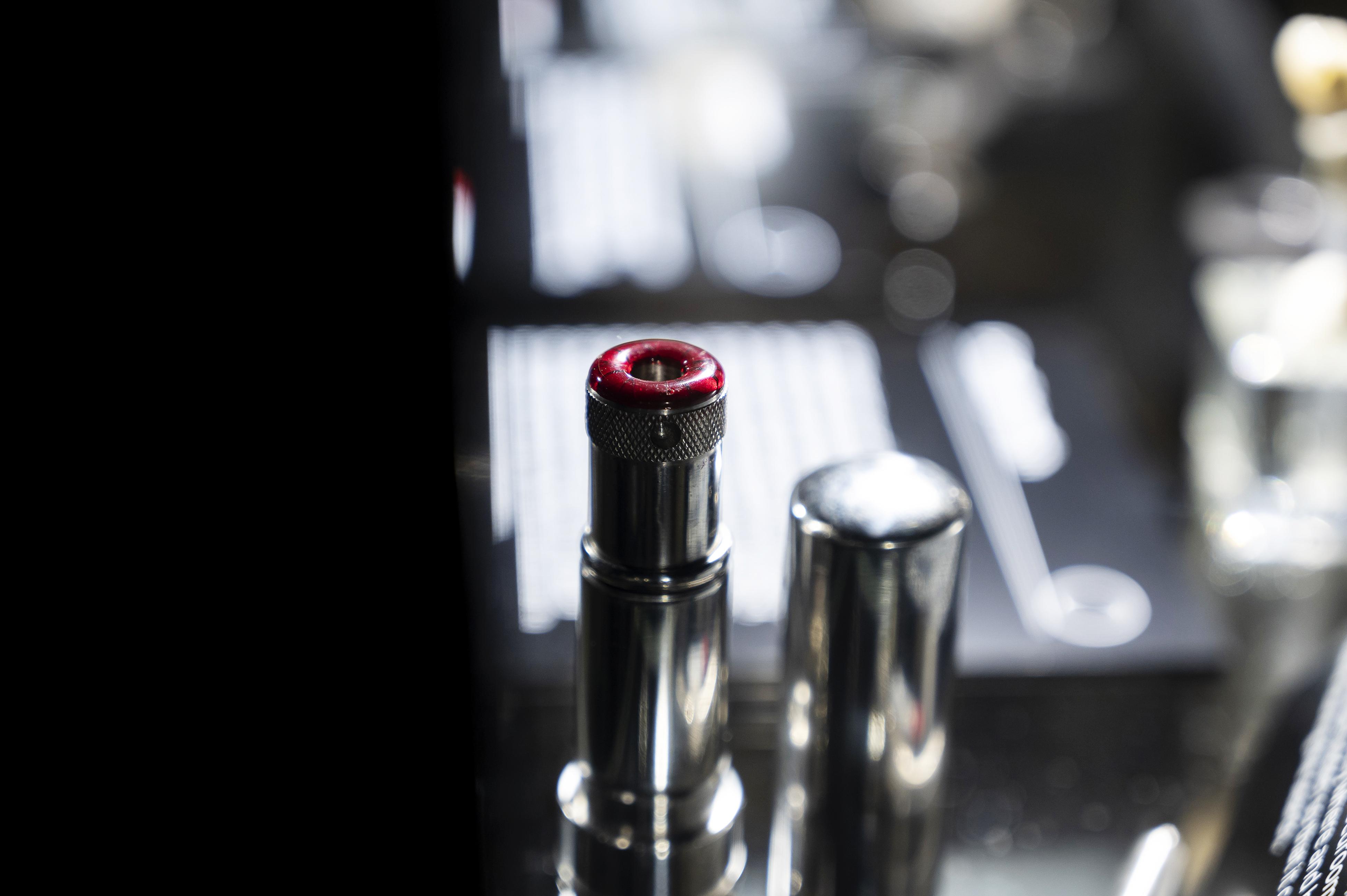 A lipstick gun at the spy museum.