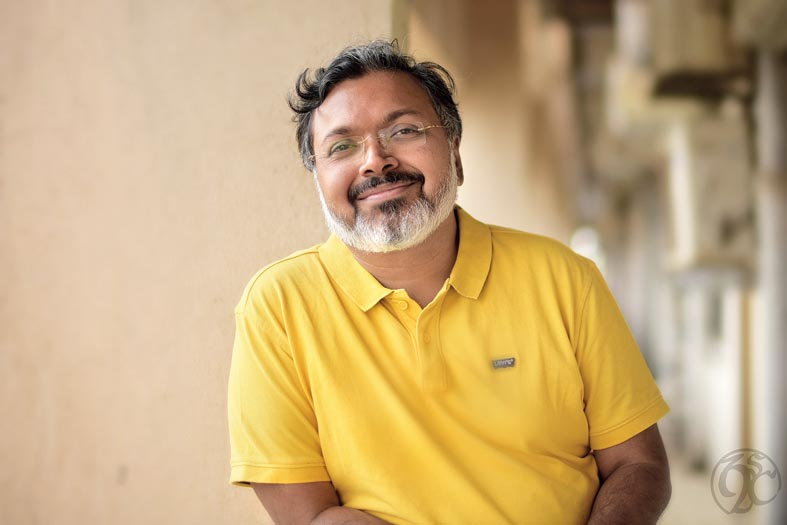 I don't like being confrontative and I don't think confrontation solves any problem — it's just theatre: Devdutt Pattanaik