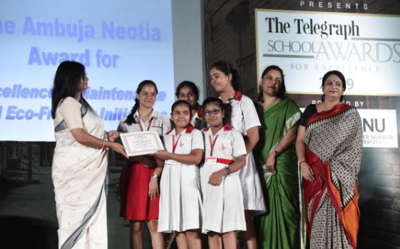 The Telegraph School Awards for Excellence 2019: South City International School.