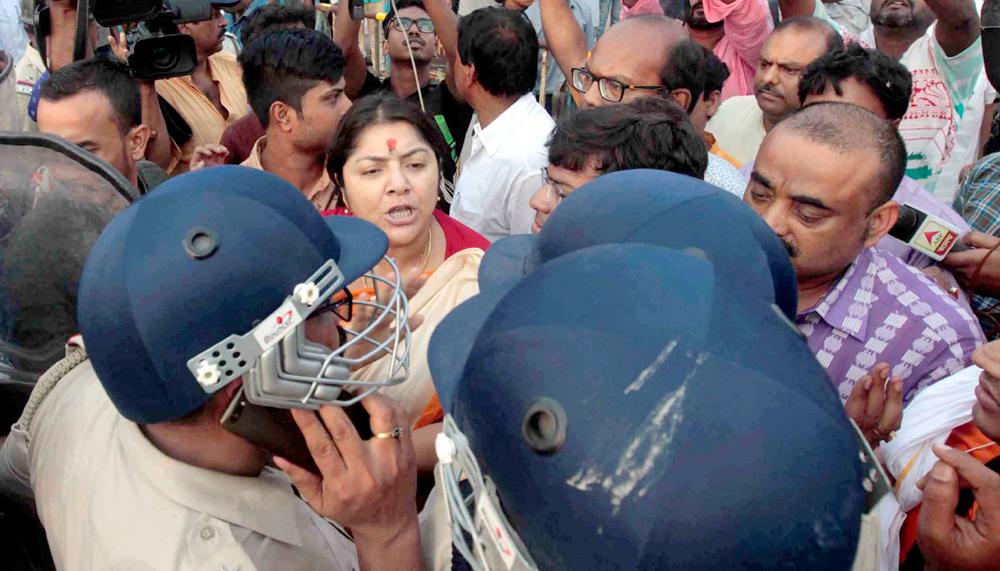 Home ministry blames Bengal government for Sandeshkhali violence