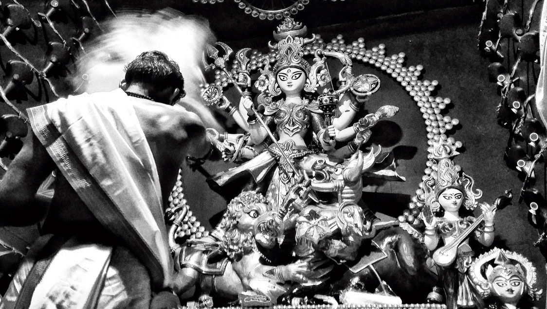 Durga Puja captured through a faithful lens