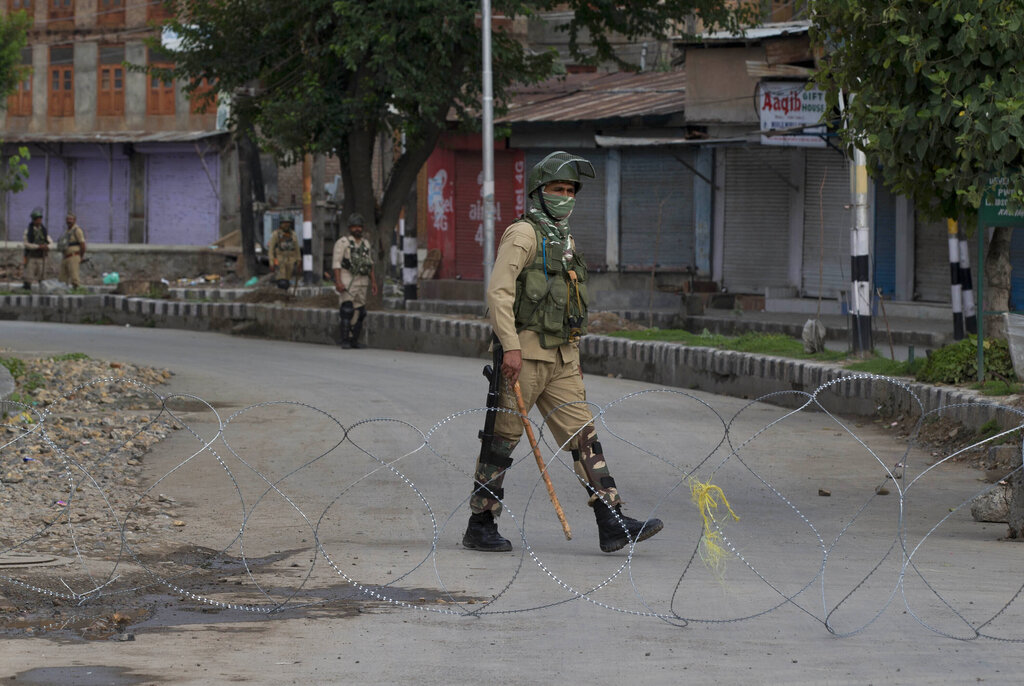Restrictions reimposed in Srinagar due to violence