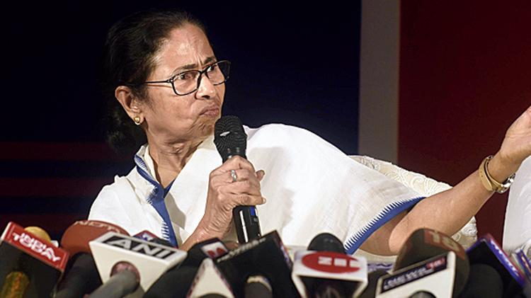 Mamata in Calcutta on Friday.