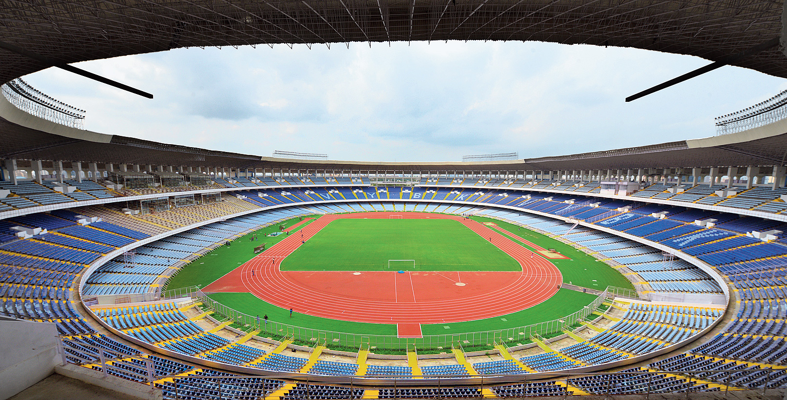 Gopi lost a sub-junior national game in Calcutta because he could not reach  the venue in time. He was at the Salt Lake stadium.