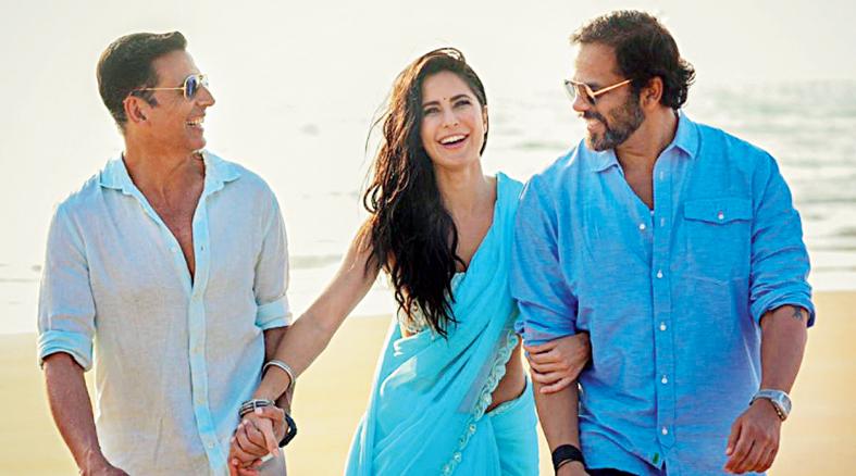 Rohit Shetty with Akshay Kumar and Katrina Kaif, who star in his upcoming biggie Sooryavanshi