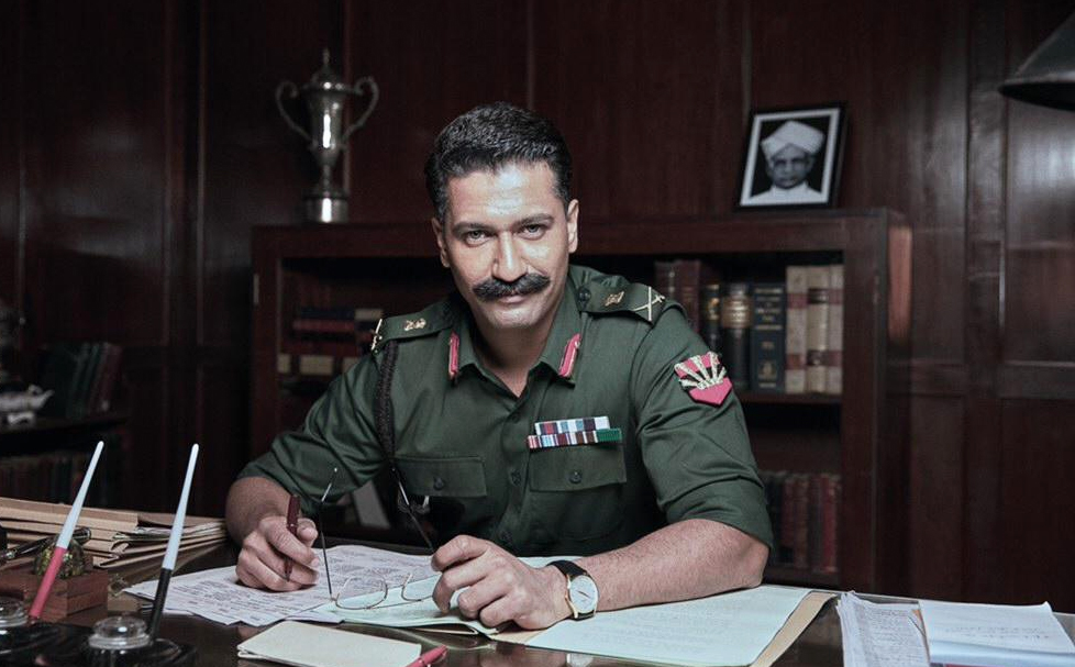 Vicky Kaushal unveiled his first look as war hero Field Marshal Sam Manekshaw in Meghna Gulzar's upcoming biopic titled Sam. Photo shows Kaushal as Lt Gen Manekshaw, when Manekshaw was heading the army's Eastern Command.