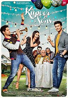 Kapoor & Sons, made delicately by Shakun Batra, was also possibly one of the first mainstream Hindi films produced by a giant production house in which the so-called hero played a gay man without any of the embarrassing tropes we are used to seeing in Bollywood's cinema