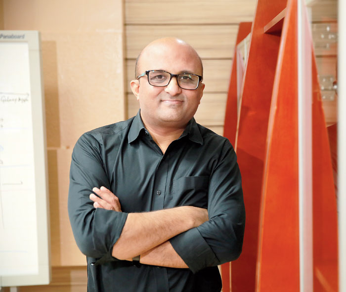 Dipesh Shah, managing director of Samsung R&D Institute Bangalore