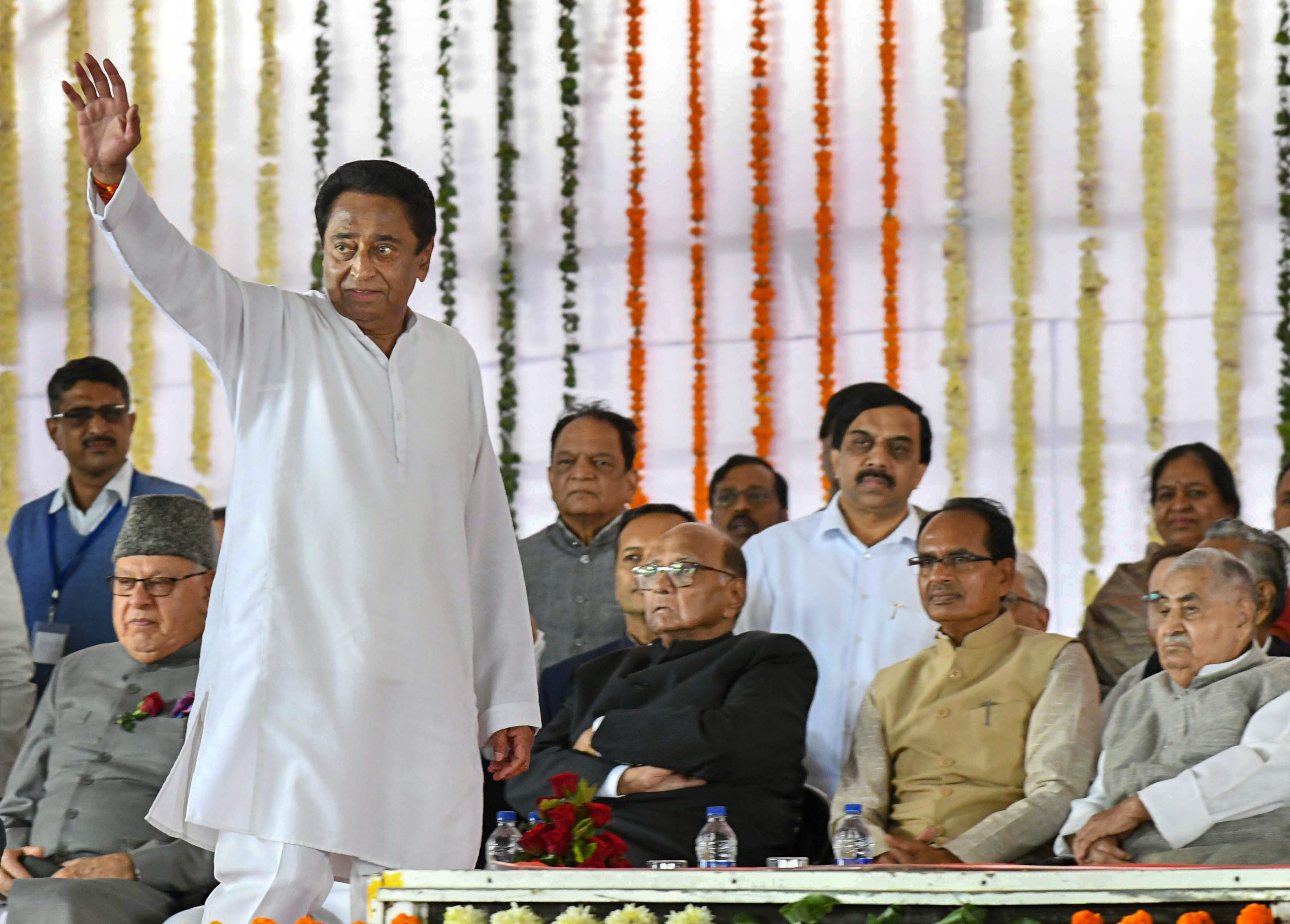"""Taking note of the """"urgency of the situation"""", a bench comprising Justice D. Y. Chandrachud and Justice Hemant Gupta issued notices to chief minister Kamal Nath, Speaker N.P. Prajapati and principal secretary of the Assembly on Tuesday and will hear the plea at 10.30am on Wednesday."""
