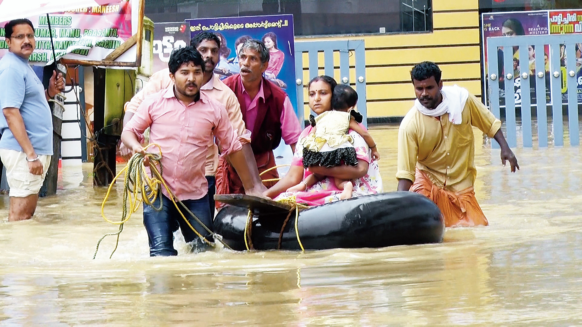 Discovery's tribute to Kerala flood heroes