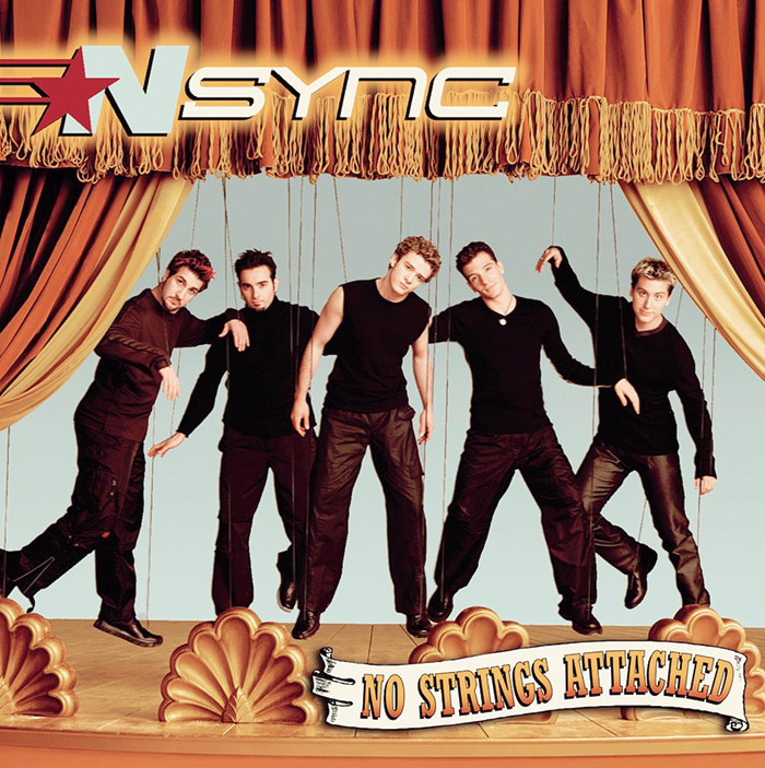 NSYNC's second album 'No Strings Attached'