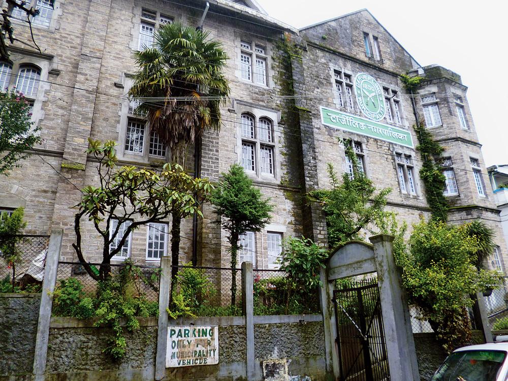 The Darjeeling municipality office