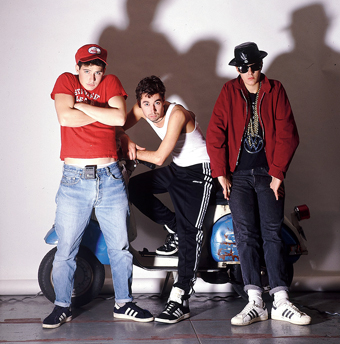 Group members Adam Horovitz, Adam Yauch and Mike Diamond in 1987, when Beastie Boys was at its peak. Catch the story of the group on the Spike Jonze-directed documentary, Beastie Boys Story, on Apple TV+.