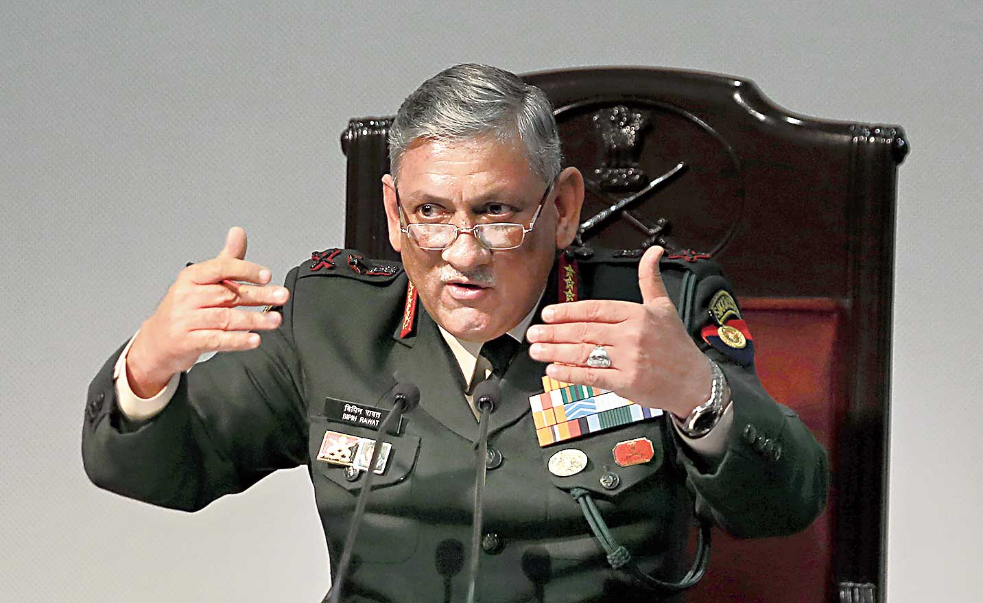 """""""The army is conservative. We will not let this perpetrate in the army. We will still be dealing with them under various sections of the Army Act,"""" Rawat said."""