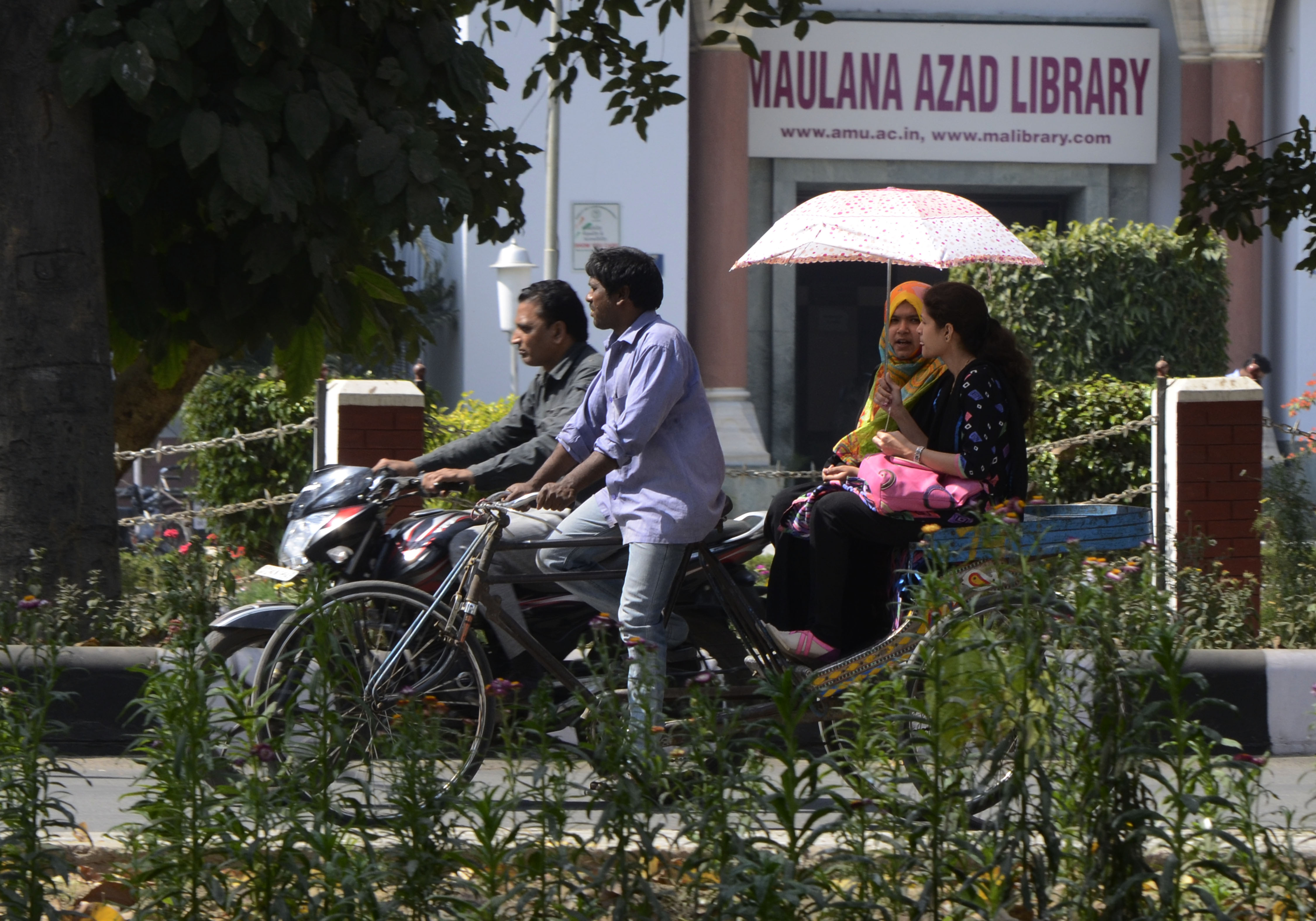 AMU authorities have pulled out all posters and issued notices to employees associated with the drama club.