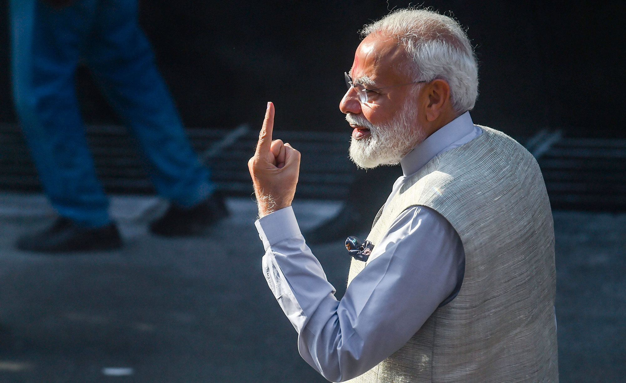 While Bilkis cast her vote in Dahod on Tuesday, Prime Minister Narendra Modi did so in Ahmedabad. Modi was Gujarat chief minister when the riots took place in 2002.