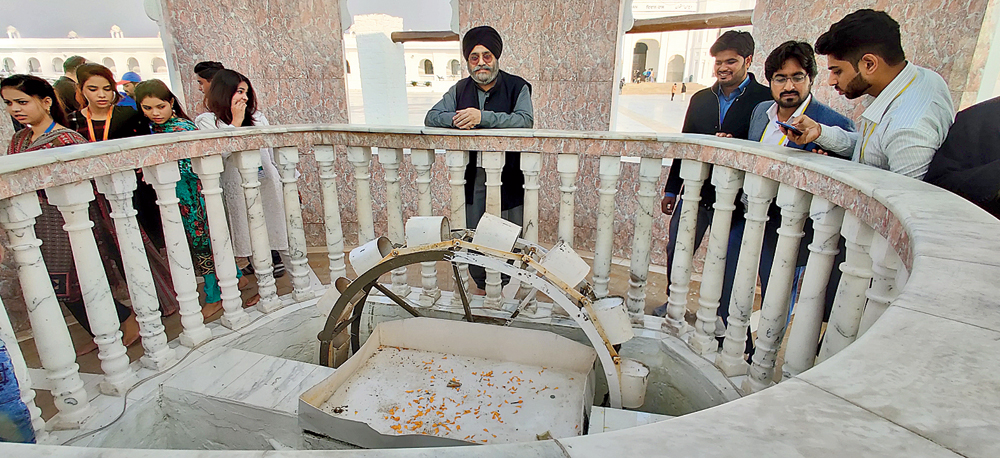 The 500-year-old well from which Guru Nanak used to water his fields