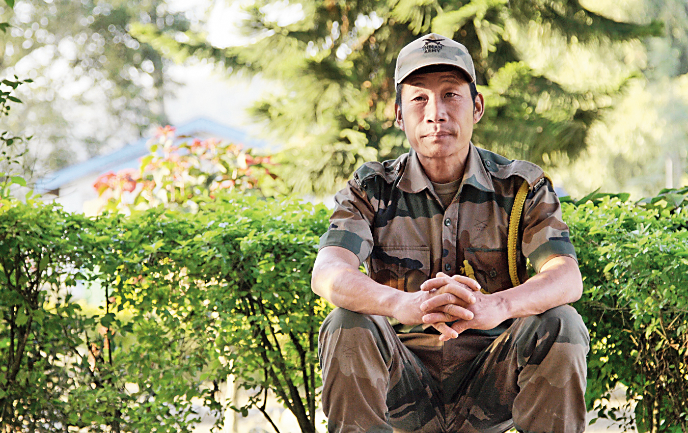 Tangru Mijhi of Arunachal Pradesh, a member of an indigenous tribe, who features in the documentary