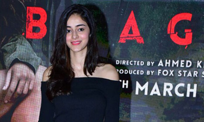 "Ananya Panday said social media has made it easy for ""anonymous"" people to judge and criticise those in the public eye"