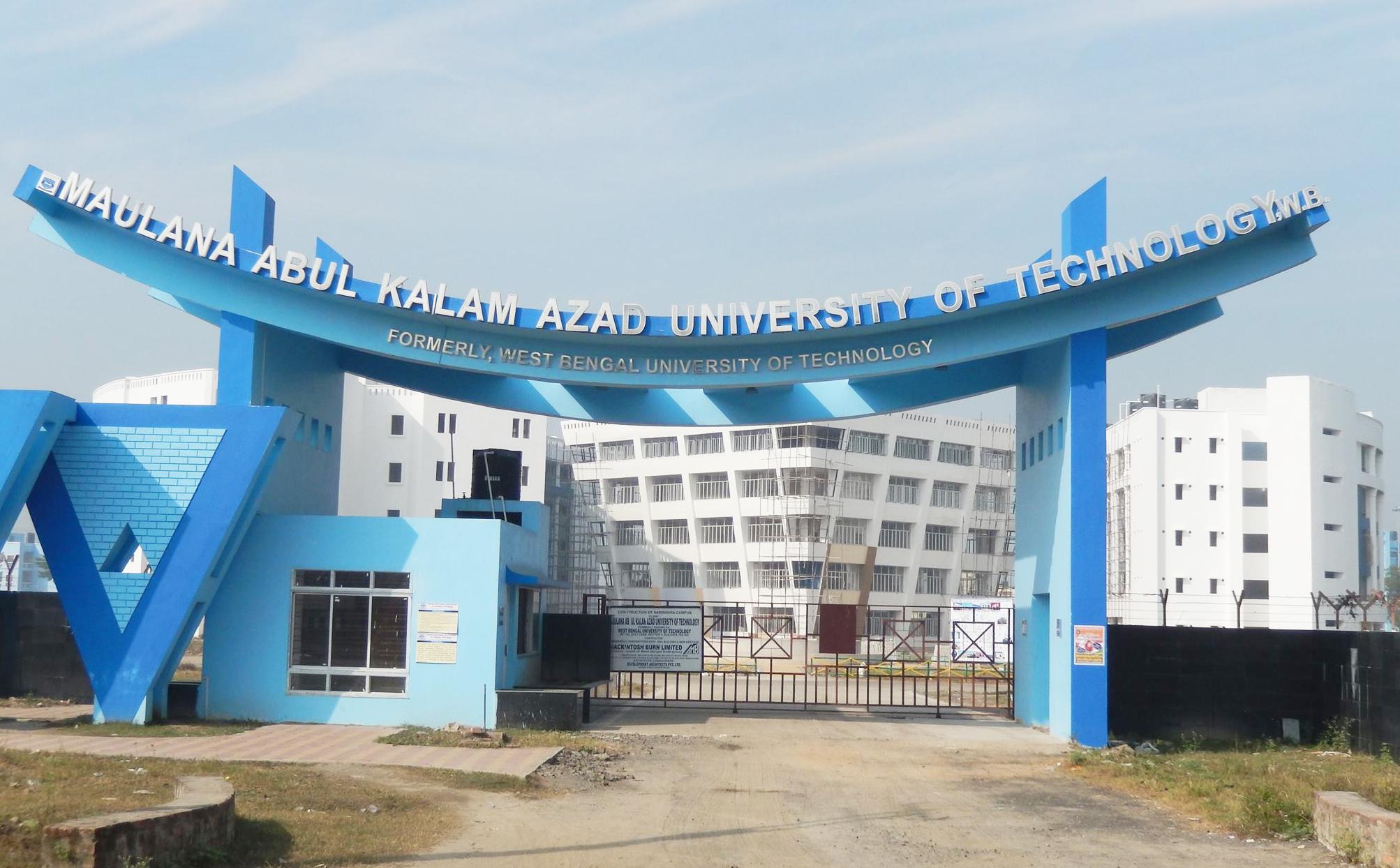 West Bengal Maulana Abul Kalam Azad University of Technology