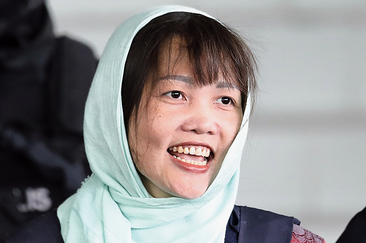 Vietnamese Doan Thi Huong, who is the only suspect in custody for the killing of the North Korean leader's brother Kim Jong Nam pleaded guilty to a lesser charge in a Malaysian court on Monday and and her lawyer said she could be freed as early as next month.