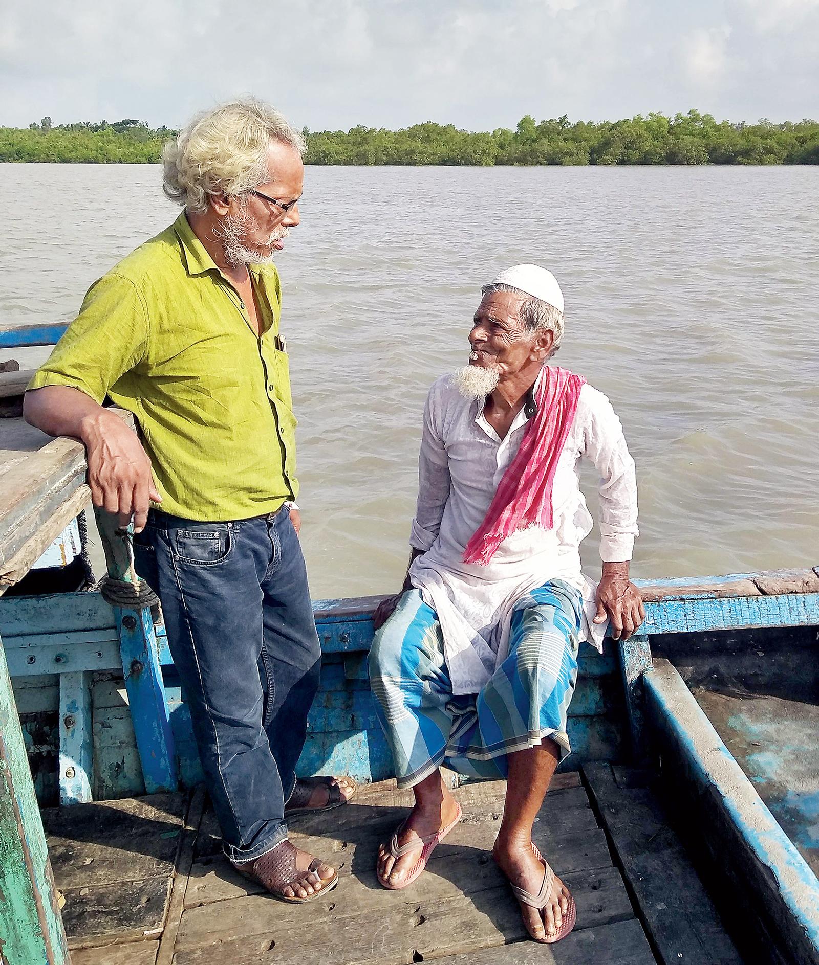 Memory Bank: Writer Sailen Sarkar hears out Khoshain Sheikh, who was 16 when he came to K-Plot