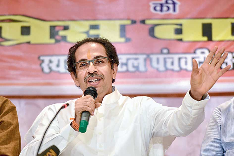Shiv Sena chief Uddhav Thackeray met NCP president Sharad Pawar in Mumbai on Thursday night.