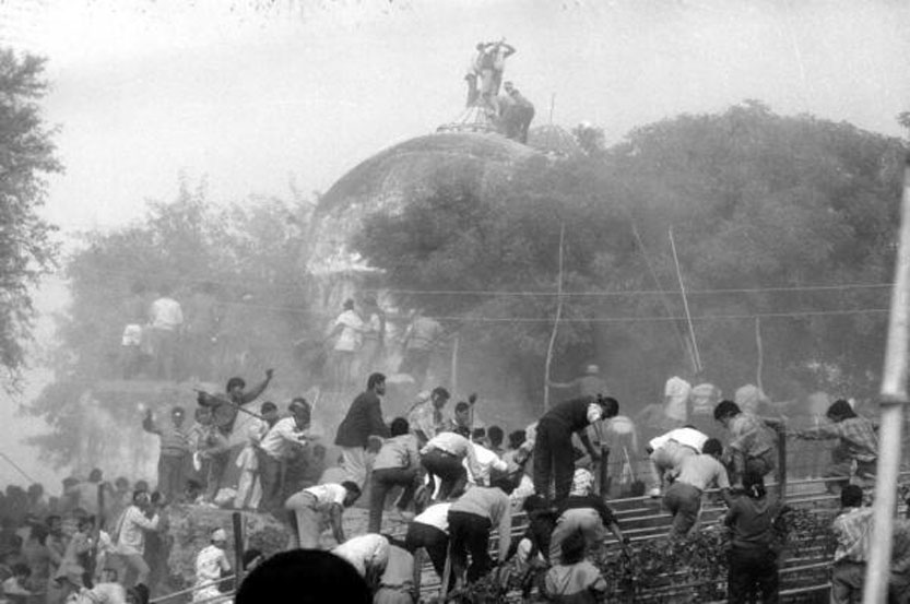 In 1992, a large crowd of kar sevaks demolished the Babri Masjid in Ayodhya. The land was taken over by the Centre in 1993 — through the Acquisition of Certain Area at Ayodhya Act — in the wake of the riots triggered by the demolition.