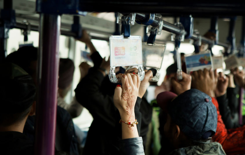 Sexual harassment on public transport is common in every urban and semi-urban centre in South Asia, and makes life a nightmare for women
