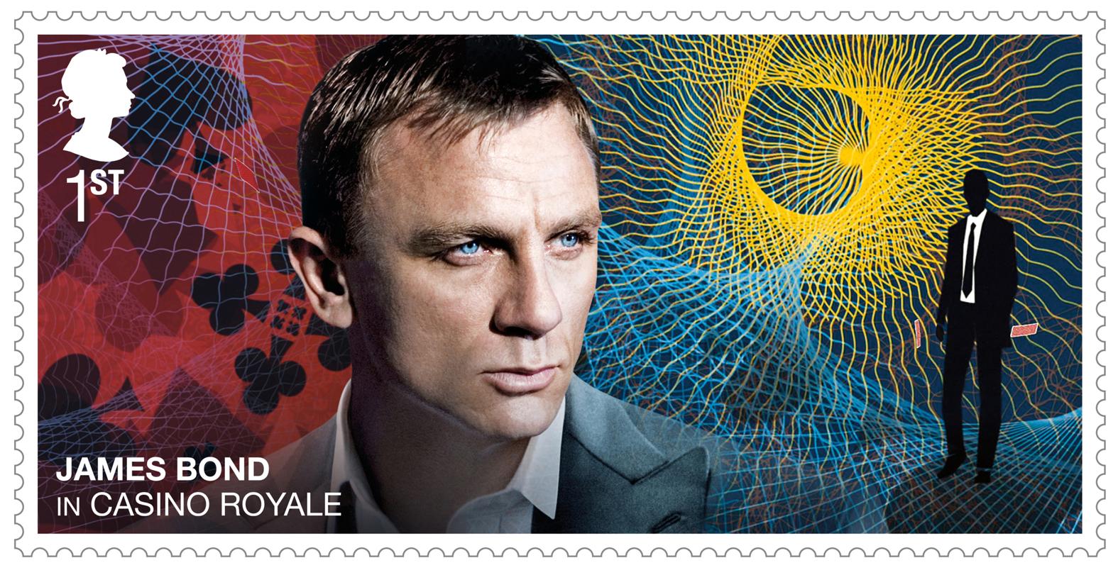 The stamp of Bond