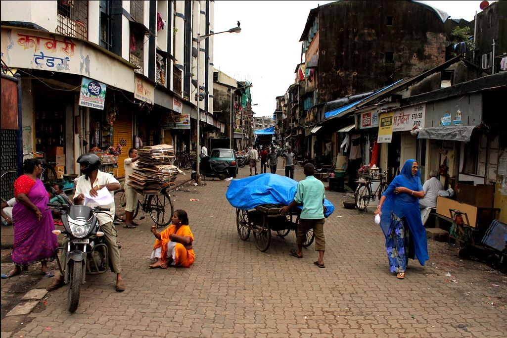 A cramped, narrow lane in Kamathipura, Mumbai. The woman, with roots in Maharashtra, was trafficked in her teens and spent nearly four years in the redlight area of Kamathipura in Mumbai.