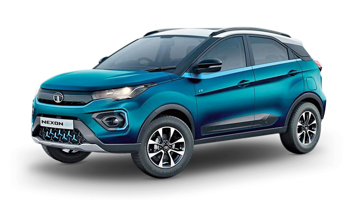 The recently launched Tata Nexon EV.