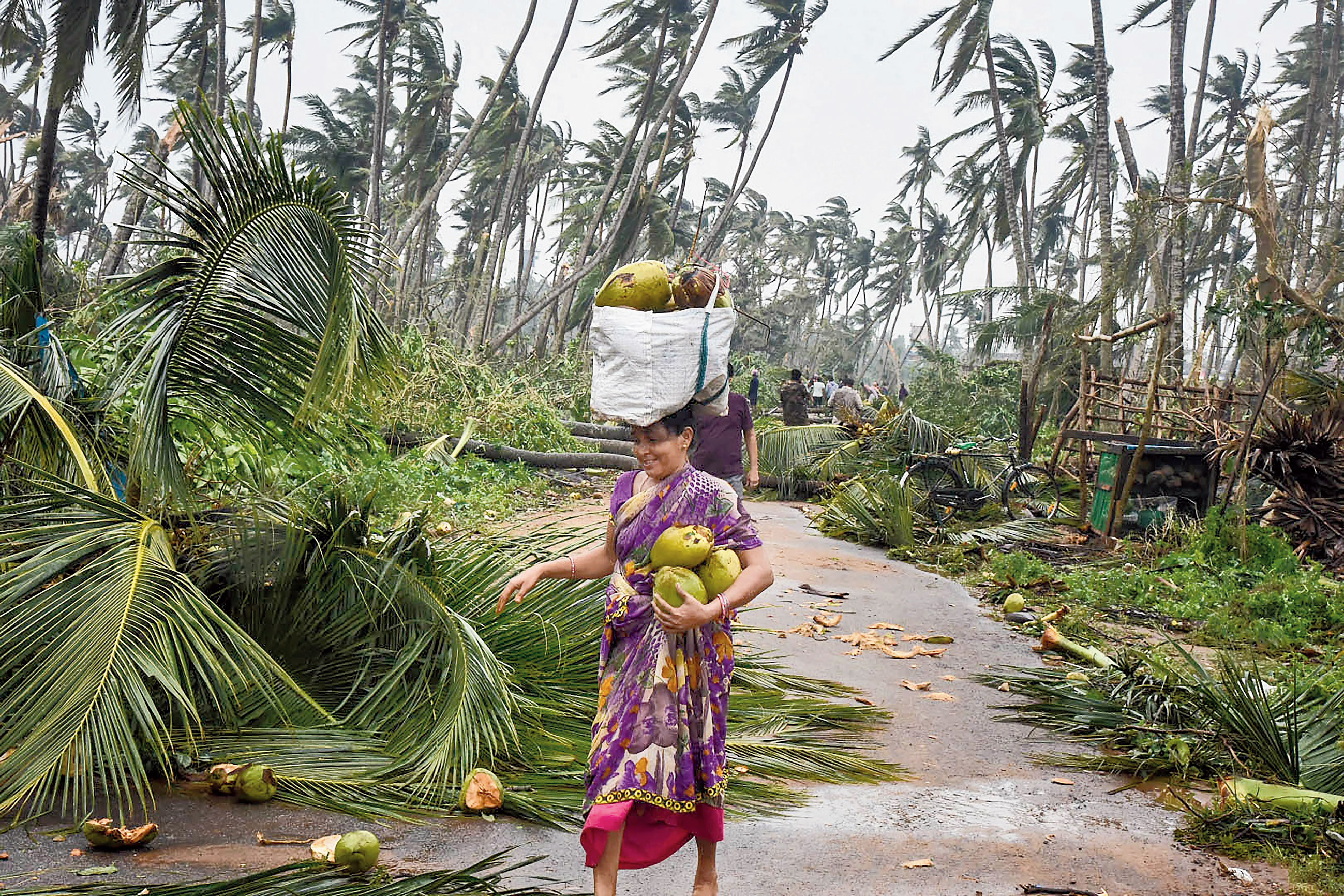 Cyclone Titli claims 8 in Andhra, heavy rain in Odisha