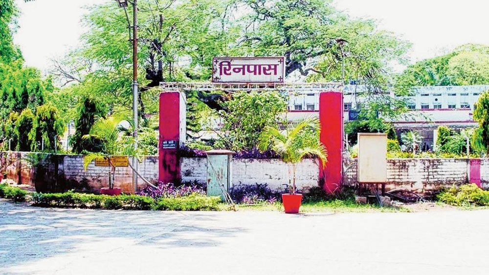 The crime took place in the condemned quarters of Rinpas, Ranchi.