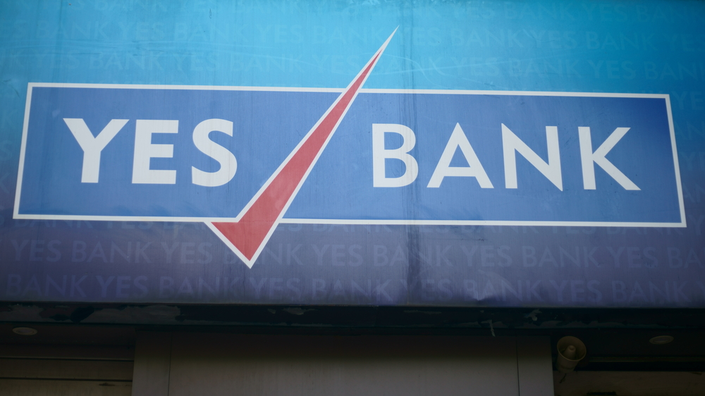 Shares of Yes Bank fell 11.71 per cent to end at Rs 161.70 on the BSE