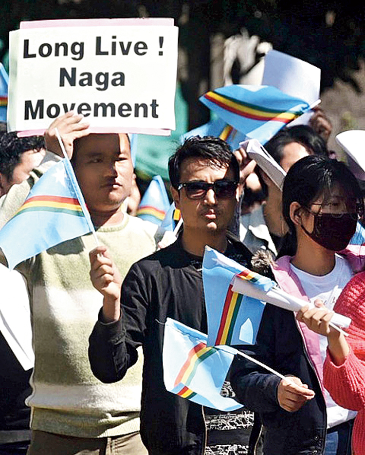 If the formation of Nagaland has sown the 'seeds of tribalism', then tribal politics has always been part of the Naga movement. The movement has been marred by factionalism.