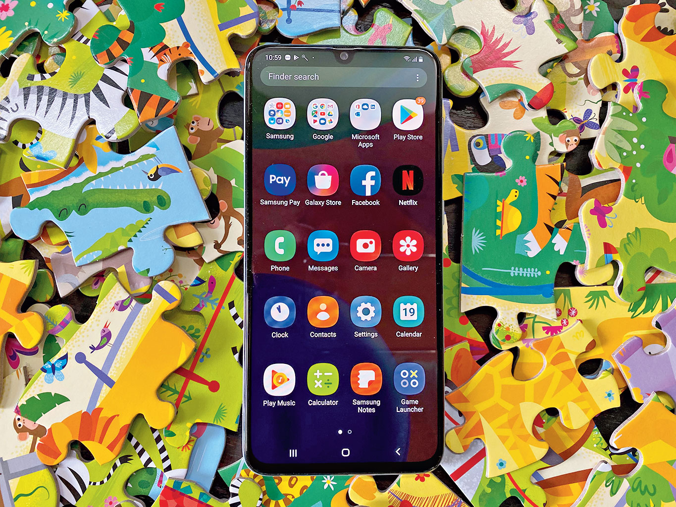 It has the same overall design of premium Samsung phones, the productivity tools demanded by a user whose life goes far beyond a nine-to-five routine, a battery that's not a let-down and a camera set-up which protects the user from a need to upgrade for a long time.