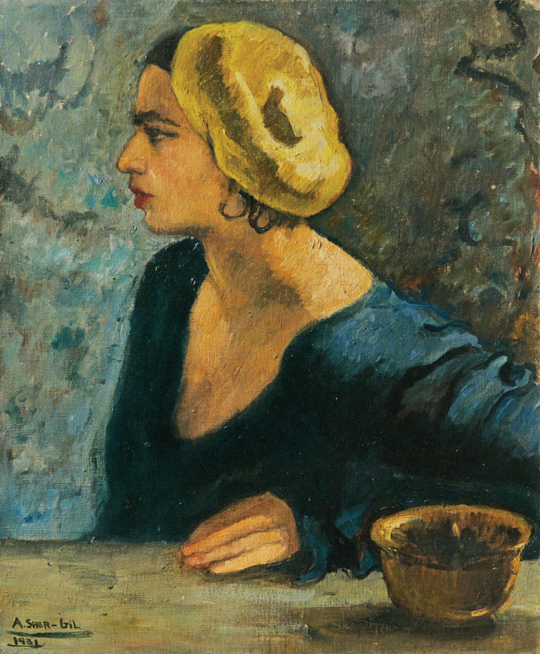 Untitled Self-Portrait, 1931 by Amrita Sher-Gil