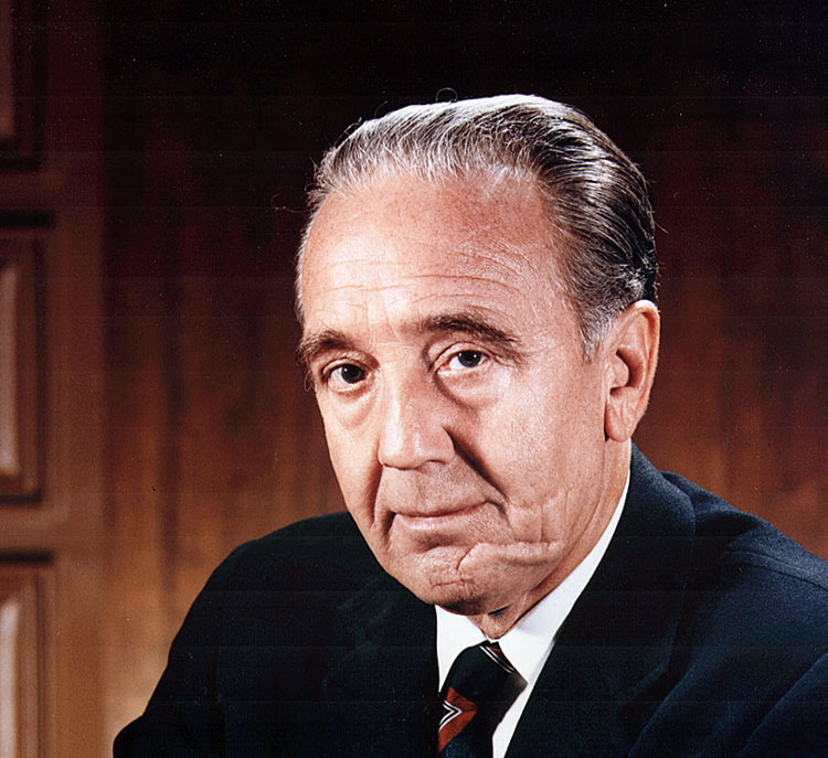 Kurt H. Debus, a German V-2 rocket scientist under Nazi rule, was made the first director of Nasa's John F. Kennedy Space Center