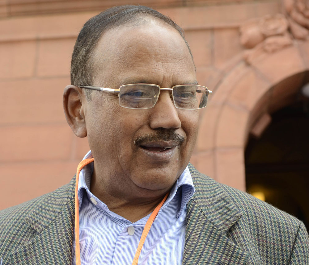 National Security Adviser Ajit Doval, who has been named in petition, was not available for comment