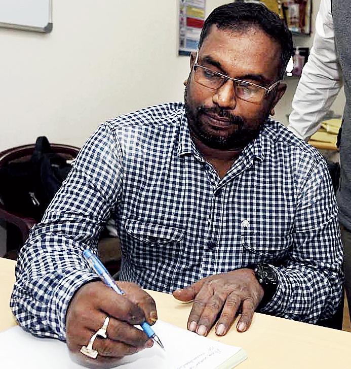 Hirak Kumar Das at Apollo Gleneagles Hospitals.