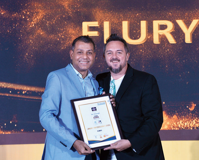 Everyone's fave breakfast place Flurys gets its award from chef, t2 columnist and a member of the jury, Shaun Kenworthy