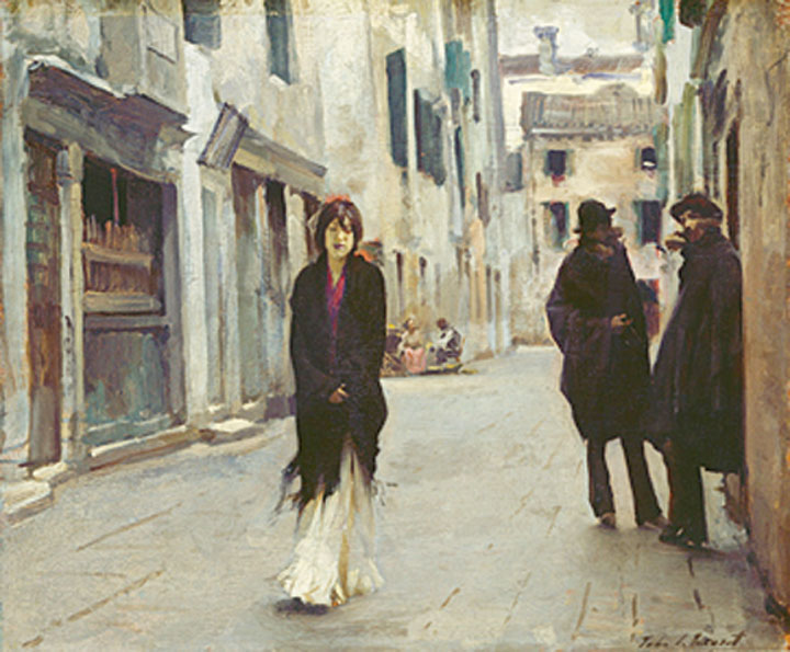 Women have traditionally been deprived of this inconspicuousness, and loitering unseen, undisturbed, has remained the privilege of men. With 'respectability' invariably being the woman's burden to bear, the figure of the solitary woman was largely absent from the Western cityscape until the 1880s.