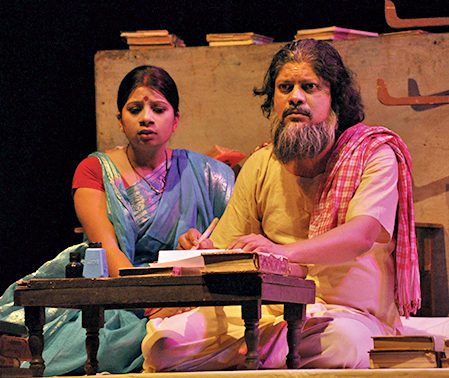 A moment from the play, Neelkanth Neerala