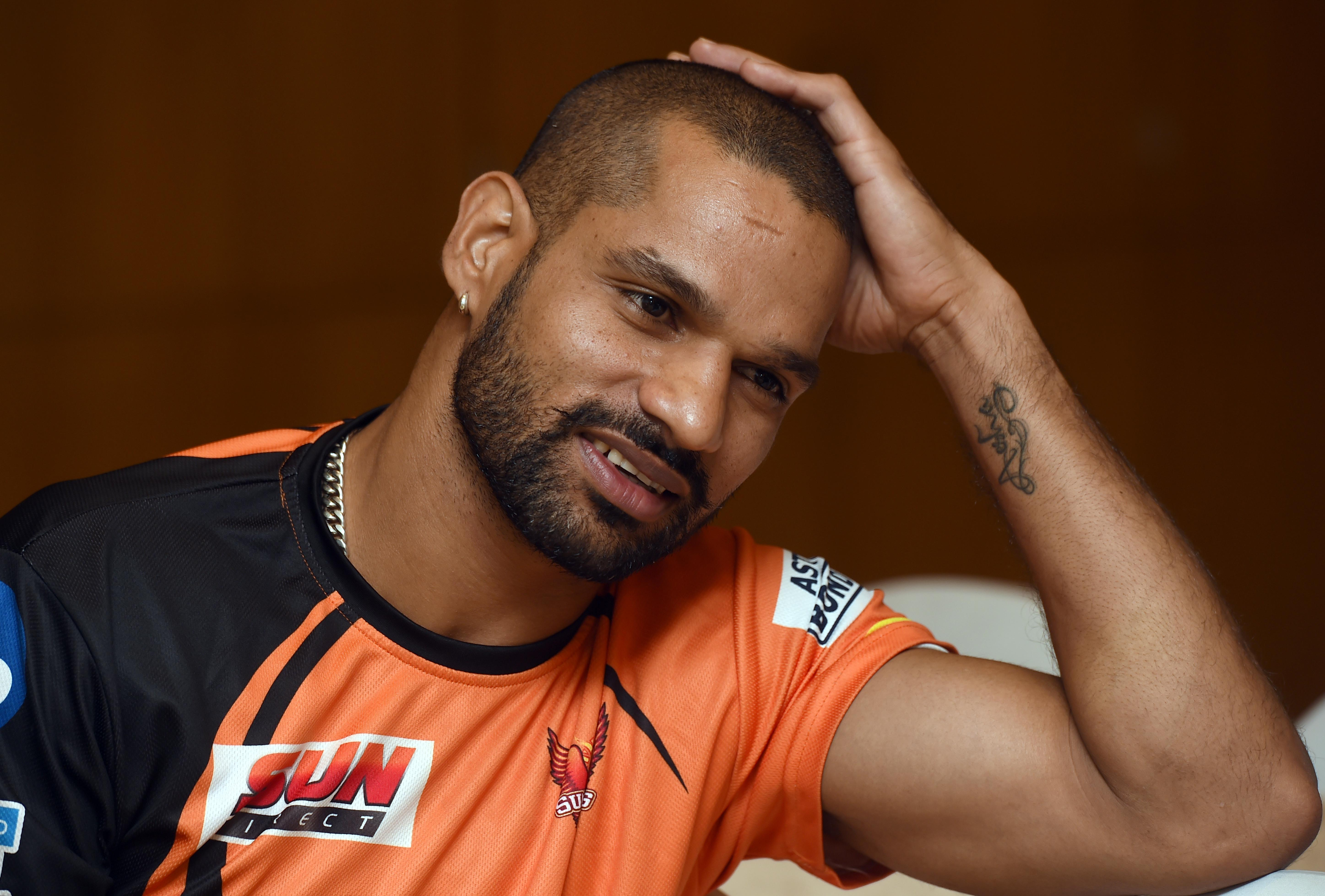 Shikhar Dhawan was bought back by Sunrisers earlier this year for Rs 5.2 crore, but the southpaw was unhappy about his price tag
