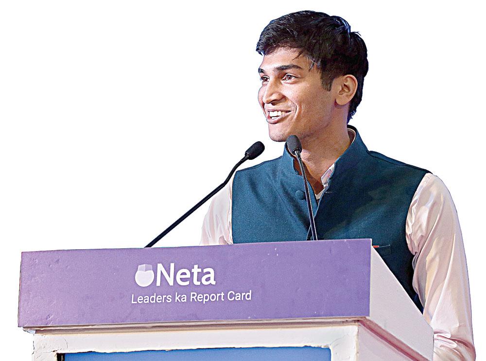 Pratham Mittal of Neta