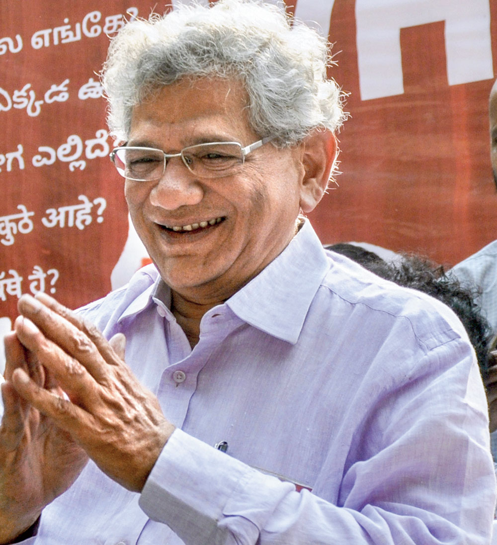 The questions that Trappier was answering ought to be answered by the Comptroller and Auditor General of India, the Supreme Court and the CBI, Sitaram Yechury said.